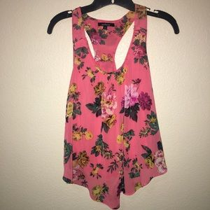 Ambiance Small Peach w/ Floral Design Top